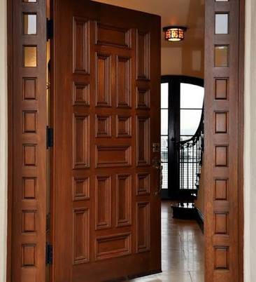 Fascinating Wooden Doors And Frames Images - Exterior ideas 3D ...