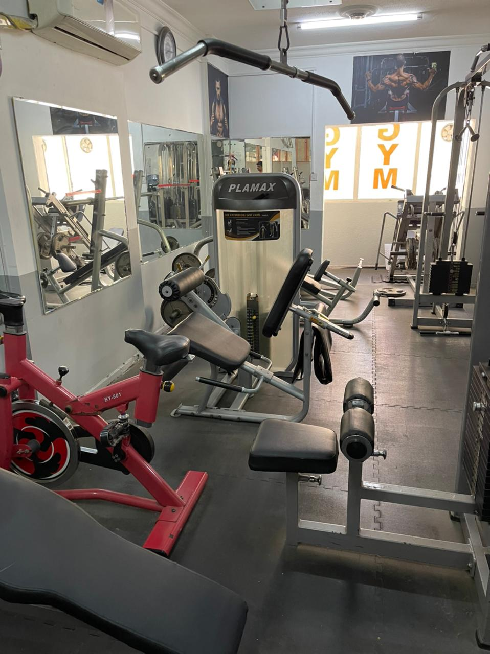 Highly Equipped Gym Is Available For Sale In Major Area Of Sharjah At A Very Reasonable Price